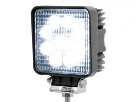 LED Arbeitsscheinwerfer eckig 27 Watt 1.620 Lumen 60 Grad