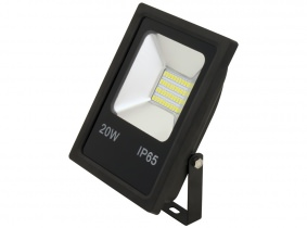adluminis 4x smd led fluter flach 20 watt lumen online kaufen. Black Bedroom Furniture Sets. Home Design Ideas