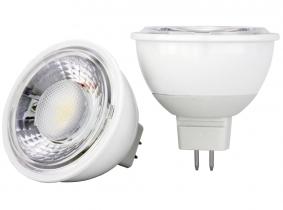 AdLuminis MR16 LED SMD Reflektorlampe AC/DC 12V 6W 500 Lumen dimmbar