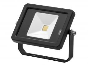 AdLuminis LED Fluter 10W 800 Lumen schwarz mit integriertem Bewegungsmelder