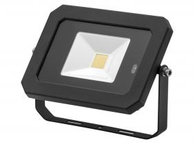 AdLuminis LED Fluter 20W 1600 Lumen schwarz mit integriertem Bewegungsmelder