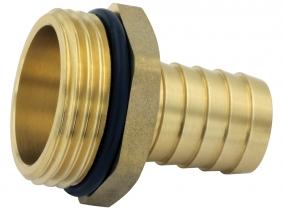 Messingfitting Schlauchtülle 19mm - 1 Zoll