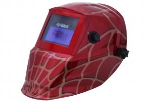 Automatik Schweißhelm Spider Rot