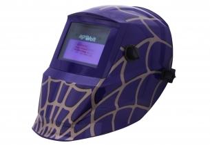 Automatik Schweißhelm Spider Lila