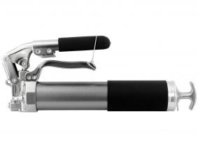 Einhandfettpresse mit Zweihand-Funktion 420 bar